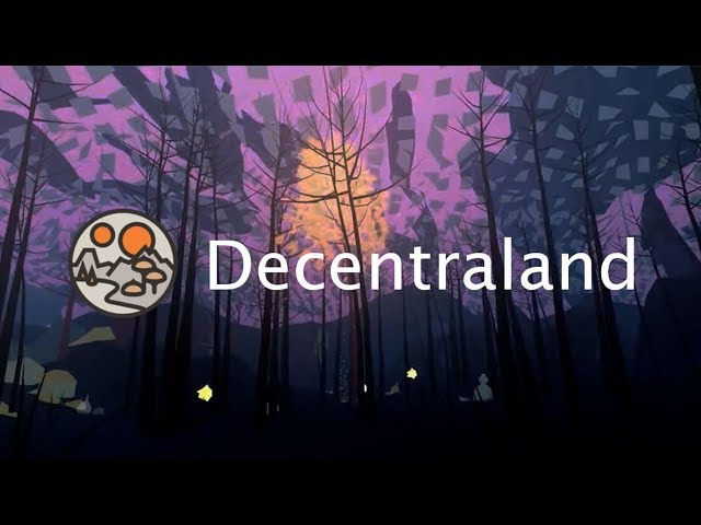 DECENTRALAND, LE JEU VIDEO DECENTRALISE