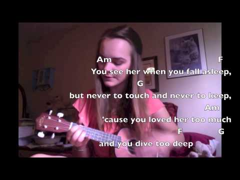 Let Her Go Ukulele Play-Along! - YouTube