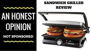 Grill Sandwich Maker Review Nova Griller Sandwich Maker Urban Rasoi Youtube