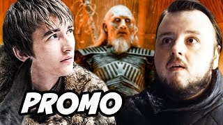 Game Of Thrones Season 8 Promo - Bran Stark and Samwell Breakdown