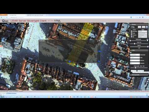 LiDARServer  geoportal danych LiDAR