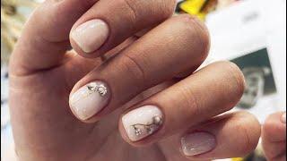Красивый нежный маникюр 2021 2022 Beautiful delicate manicure 2021 2022 Top Nails