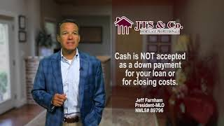 JTS MM 7 7 2020 When It's Acceptable to use Cash or Cash Deposits