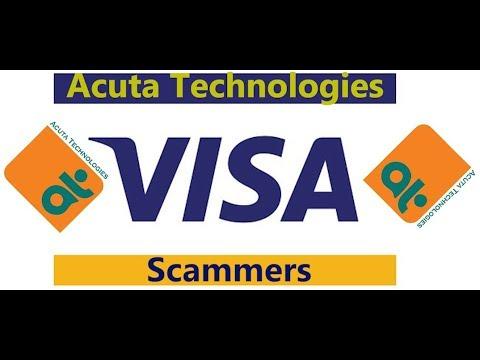UK readers, beware of this fake VISA credit card scam