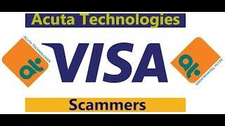 VISA scammers - Acuta Technologies, Hyderabad