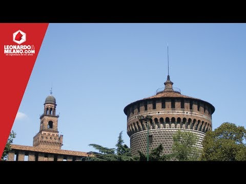 The Sforza Castle in Milan - the fortress of the Duke