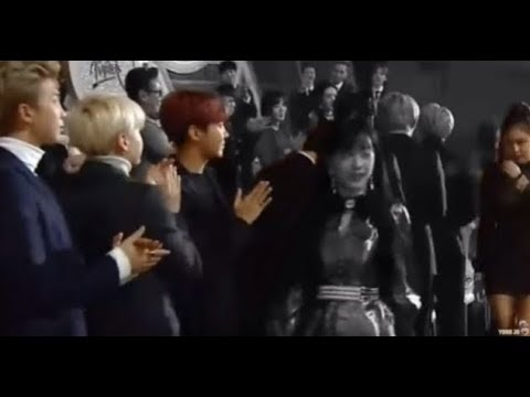 BTS reaction to BLACKPINK Jennie   moments \ interaction