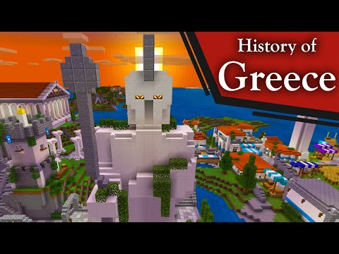 Greek History Portrayed by Minecraft
