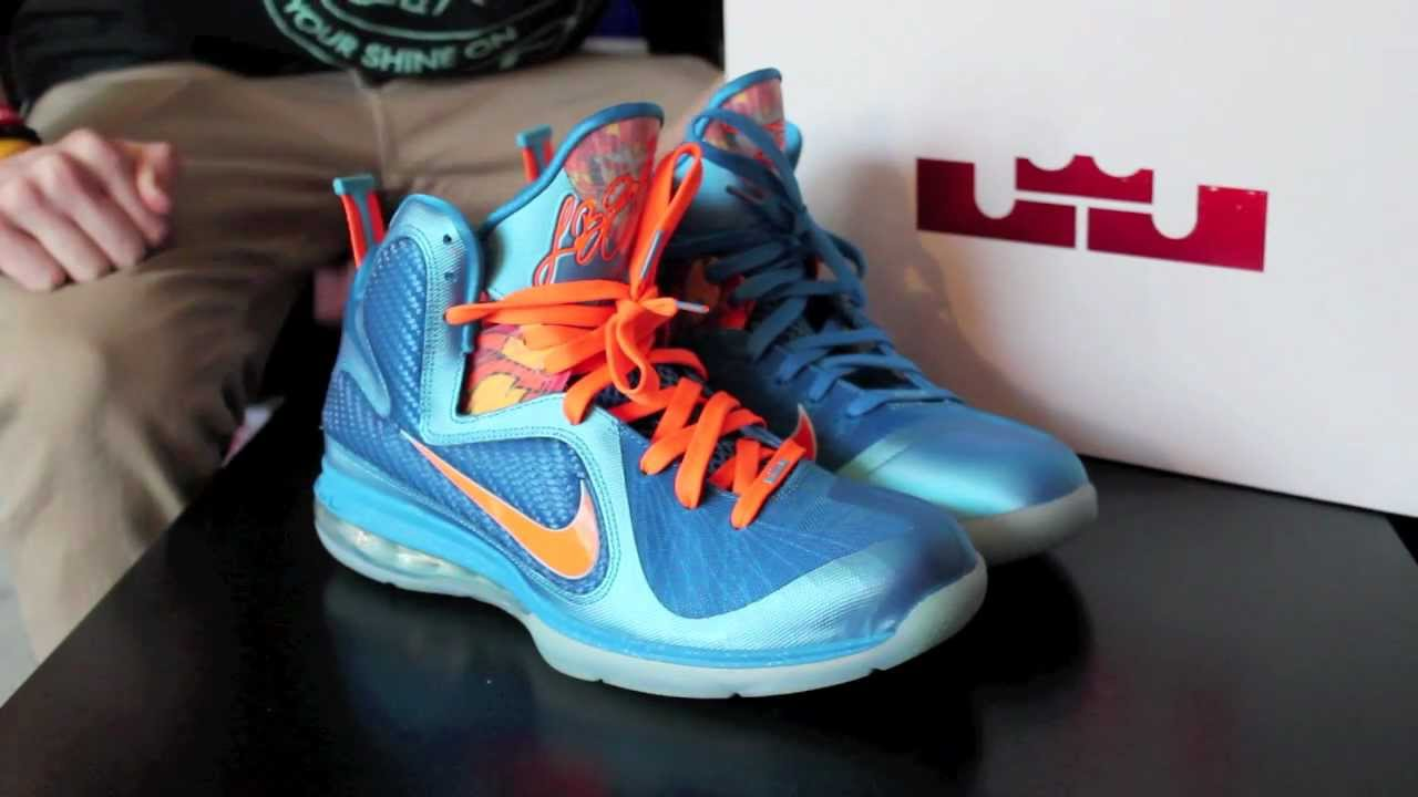 reputable site 46d58 3003d lebron 9 china on feet