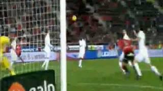 Tomer Hemed Goal, RCD Mallorca vs Real Madrid, La Liga 14.01.12