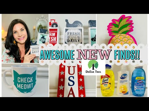 DOLLAR TREE HAUL 2020~BRAND NAME AWESOME NEW FINDS!!💕Olivia's Romantic Home DIY