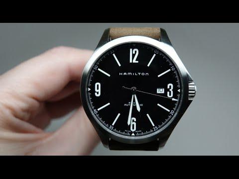 Hamilton Khaki Aviation Men s Watch Review Model  H76665835 - YouTube 219ae83414