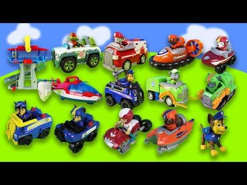 Paw Patrol  Spielzeug Serie Youtube Neu Spielzeugautos | Chase, Flugzeug, Müllauto & Spielzeugautos