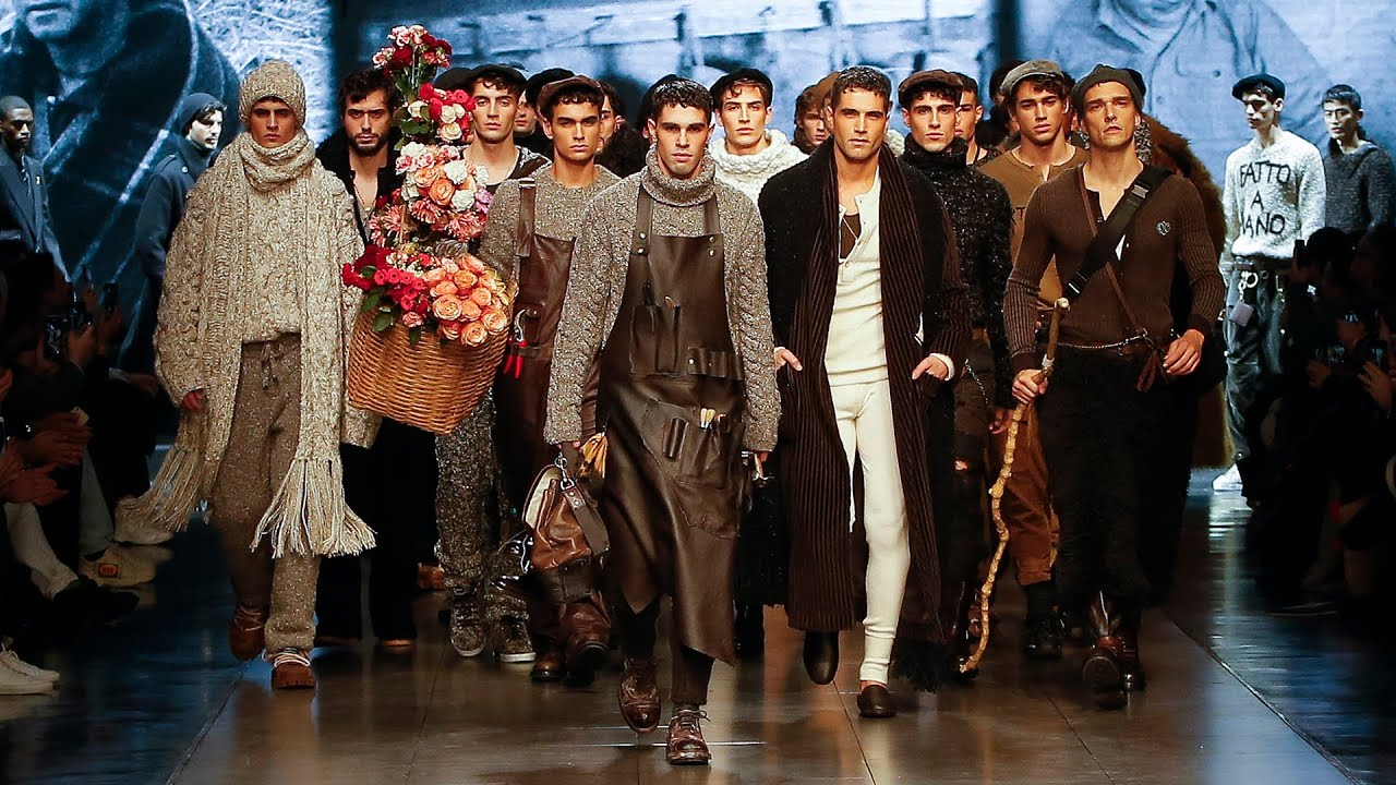 Fall Winter 2020 21 Men's Fashion Shows | Dolce & Gabbana