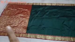 Convert banarasi saree into Dupatta perfectly || DIY ||