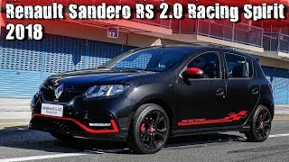 "2018 Renault Sandero RS 2.0 ""Racing Spirit"" Special Edition"