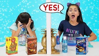 Twin Telepathy EASTER EGG SLIME Dump IT Challenge!!!