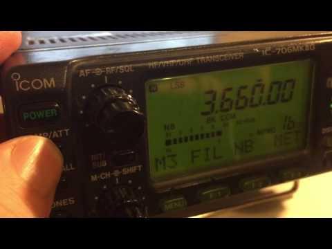 Fl223 narrow filter Icom IC706mk2G