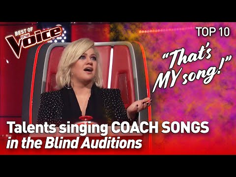 TOP 10 | Talents SURPRISE with COACH SONGS in The Voice - pa