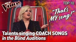 TOP 10 | Talents SURPRISE with COACH SONGS in The Voice - part 2