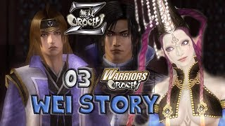 Musou Orochi Z (PC Gameplay with Commentary) 03 Cao Pi & Mitsunari Snobby Team up Da Ji (o )( o)