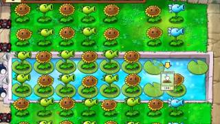 Plants vs Zombies Adventure 3-6 и 3-7