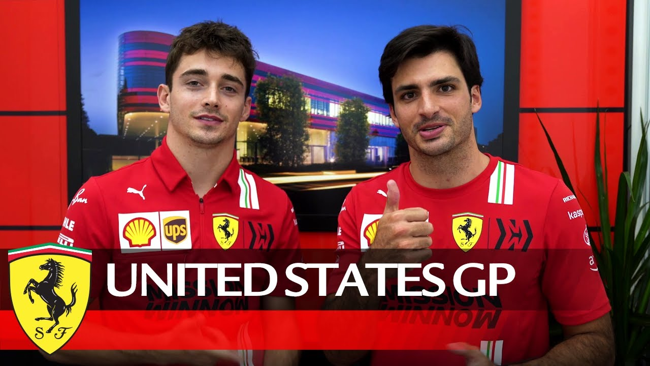 Charles and Carlos message after the US GP