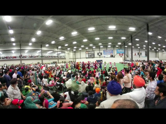 VR 360 Massive Dance group Bhangra Canada