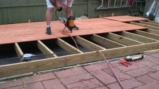 Building A Shed - Part 2 - Floor Joist Framing