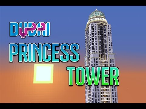 MINECRAFT CREATIVE - La Princess Tower de Dubai