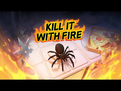 Kill It With Fire for the Sony PlayStation 4 |