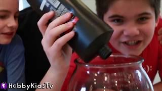 SHAMPOO SLIME Challenge! Don't Choose WRONG Bottle by HobbyKidsTV