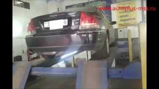 Ремонт и замена катализатора Volvo s60 2.4 на пламегаситель