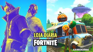 FORTNITE-TODAY'S ITEMS STORE 16/10 (DAILY SHOP) | NEW SKINS AND NEW HALLOWEEN ITEMS?