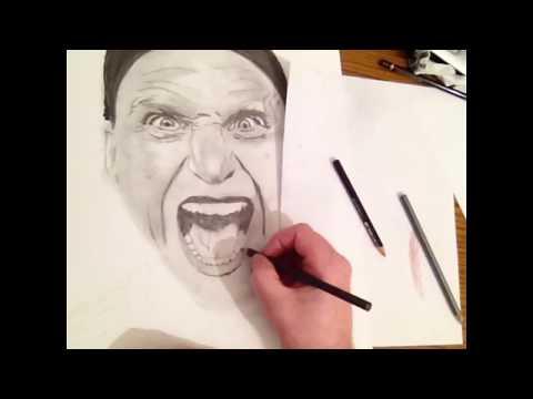 Drawing Zlatan Ibrahimovic