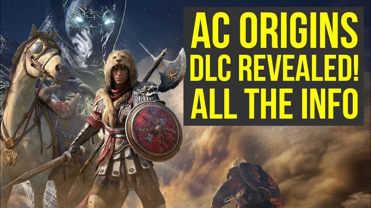 Assassin S Creed Origins Dlc Revealed Free Horde Mode Amazing