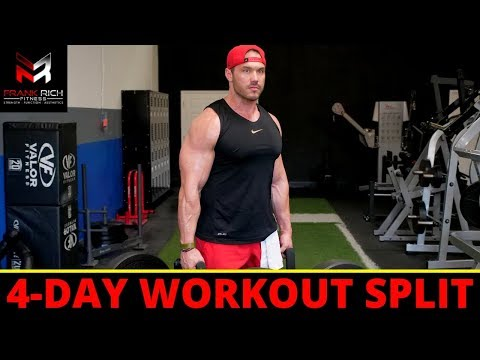 The BEST 4-Day Workout Split For BUILDING MUSCLE