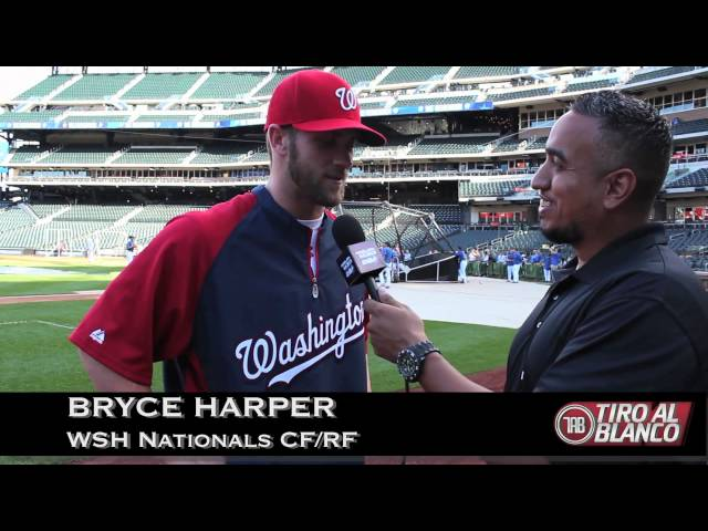Gemini Keez IN THE PEN with Washington Nationals Outfielder, Bryce Harper. Travel Video