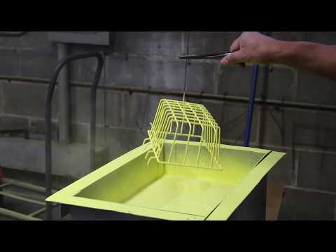 See the Fluidized Bed Powder Coating Process