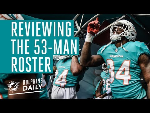 Evaluating the 53-man roster, the practice squad is announced and more. | Dolphins Daily