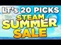 20 GAME PICKS - Summer Steam Sale | Luetin's guide