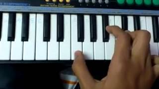 Yeh to sach hai ki bhagwan hai piano tutorial by dikshit shrimal