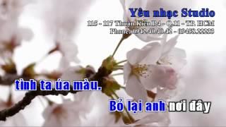 KARAOKE Đừng Hứa Với Anh Chu Bin Chu Hiểu Minh