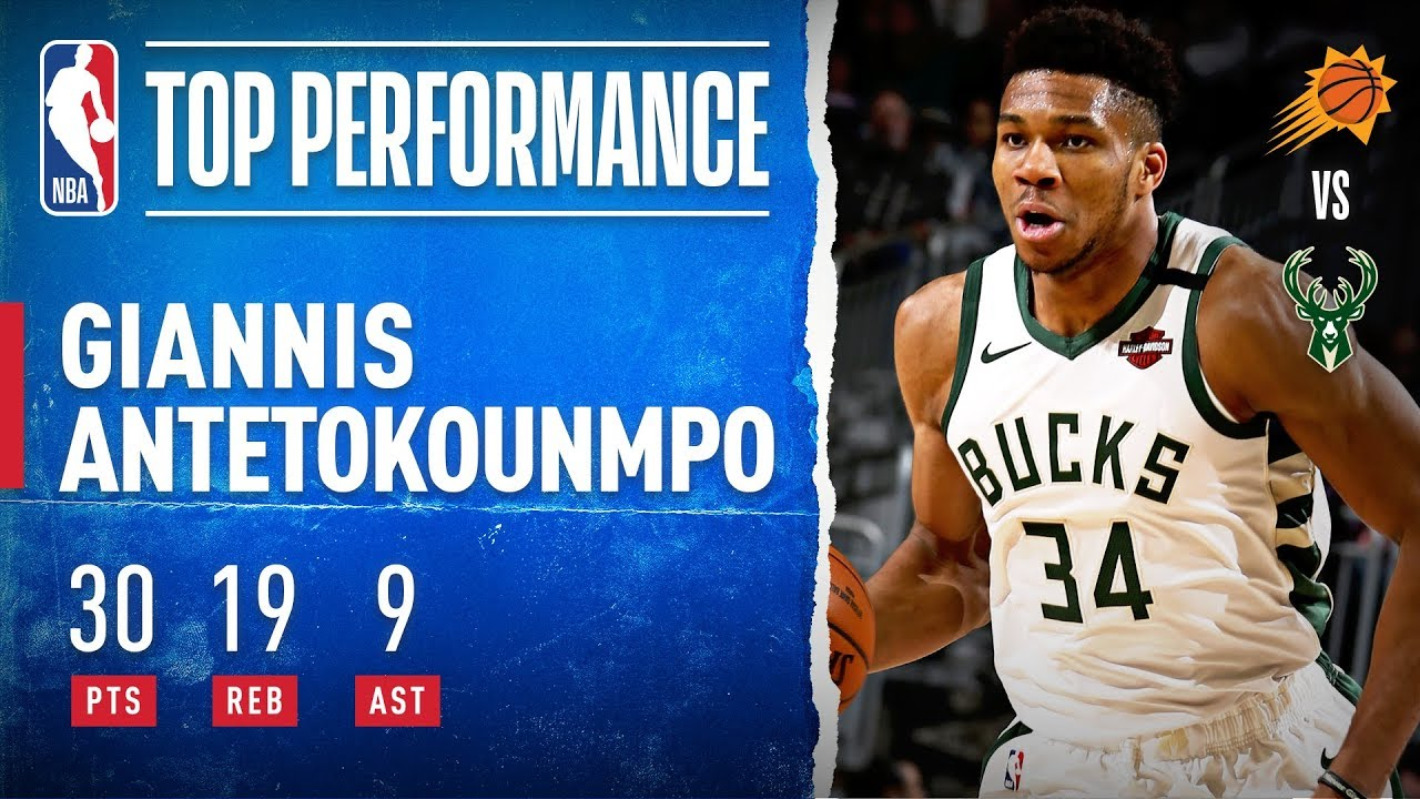 Giannis Racks Up Monster Double-Double