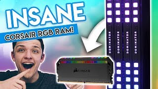 Corsair Dominator Platinum RGB - The Most Overkill RGB RAM Ever?!