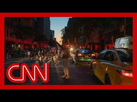 New York power outages darken the iconic city