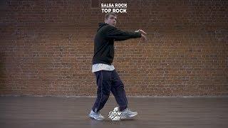 """26. Salsa rock (Top rock)   Видео уроки брейк данс от """"Своих Людей"""""""