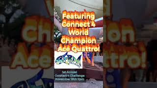 Serda 1st Annual Connect 4 Challenge featuring ACE QUATTRO (music provided by Survivor)
