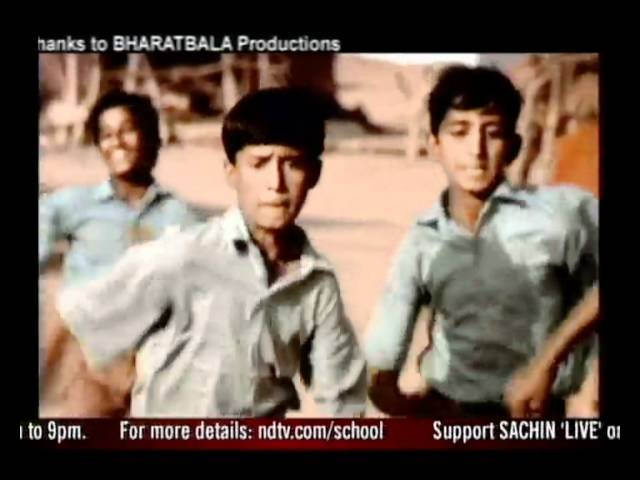 Watch Sachin Tendulkar rally for 12 hours on September 18 to help the Support My School campaign.