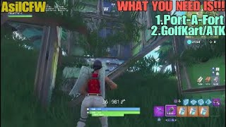 Fortnite Glitch Get Under The Map Anywhere! Solo!